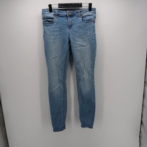 Kut from the Kloth Distressed Skinny Leg Jeans